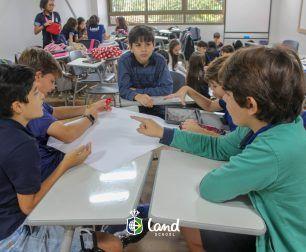 Os temas Bullying e Cyberbullying são trabalhados com os alunos do 6º ano.