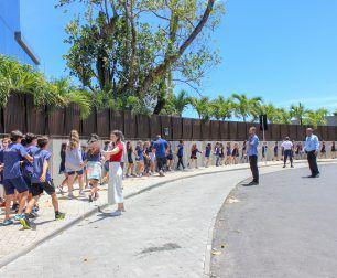 Land realiza treinamento de Segurança Escolar